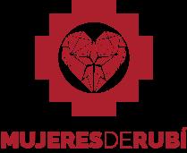 Logotipo MdeRubí Vertical rojo
